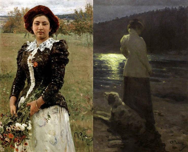 """""""Осенний букет"""" и """"Лунная ночь"""""""
