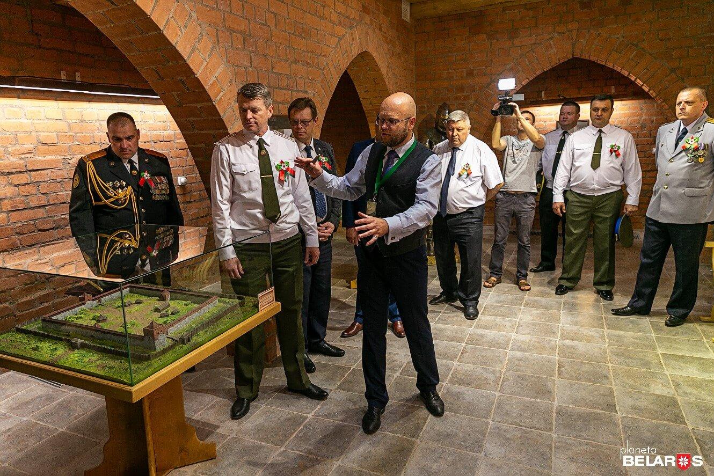 Открытие башни Гедемина и выставки «Планета Беларусь»